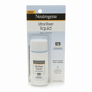 Neutrogena UltraSheer Liquid Daily Sunblock