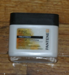 Pantene Fine Hair Solutions Ultra-Light Moisturizing Treatment