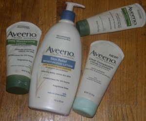 Aveeno positively nourishing hydrating body wash