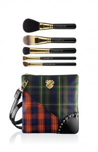 MAC Tartan Tale collection, Brush Bags Sweep Me Off My Feet Sweep & Define Brush Collection