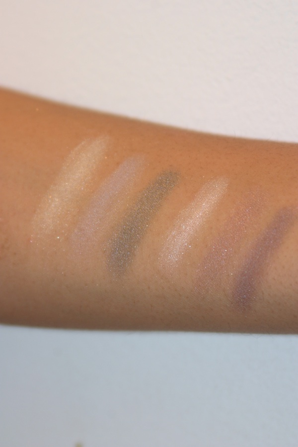 2010 Dior Holiday Palette Swatches