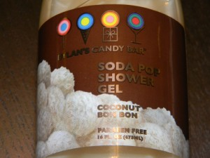 Dylans Candy Bar Coconut Bon Bon Shower Gel