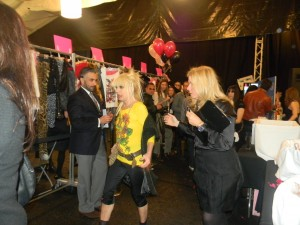 Betsey Johnson at NY Fashion Week