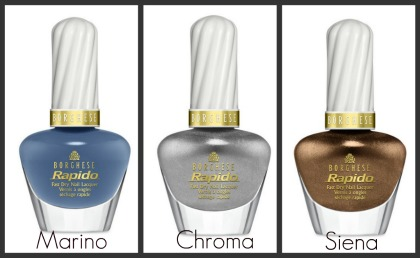 New Borghese Nail Care: Rapido Fast Dry Nail Lacquer collection