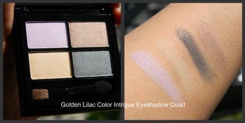 Elizabeth Arden Golden Lilac Color Intrigue Eyeshadow Quad