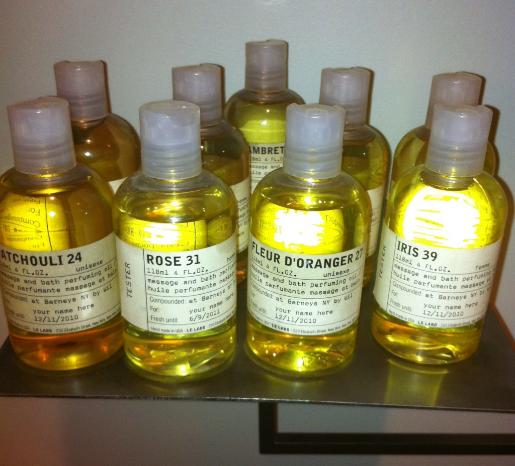 Le Labo Santal 22 launch at Barneys NY Rose 31