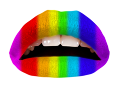 Violent Lips Rainbow Pride Special