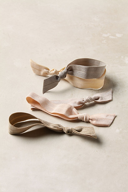 Anthropologie Simply Ponytail Holders