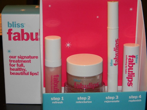 bliss fabulips lip treatment