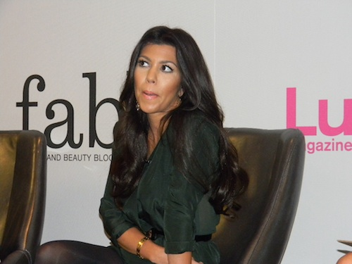 Kourtney Kardashian at Lucky FABB