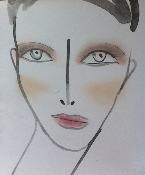 NARS at Mandy Coon Spring 2012 face chart