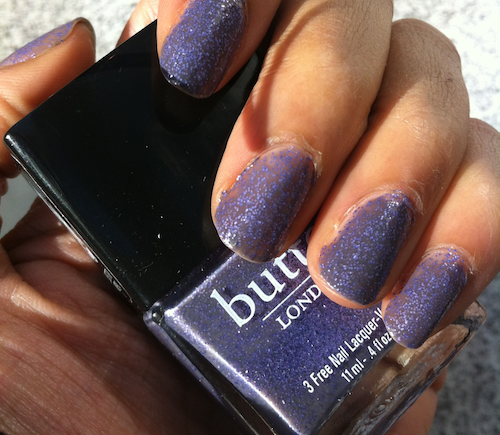 Butter London No More waity Katie swatch