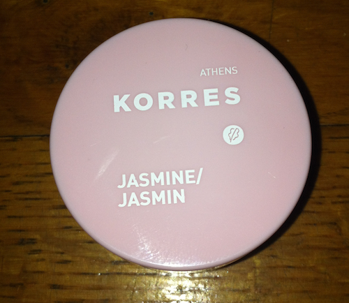 Korres Jasmine lip butter review