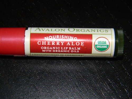 Avalon Organics Cherry lip balm