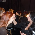 NARS Cosmetics Backstage at Mercedes-Benz Fashion Week for Honor Fall 2012