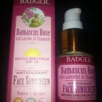 Review: Badger Damascus Rose SPF 16 Face Sunscreen Lotion
