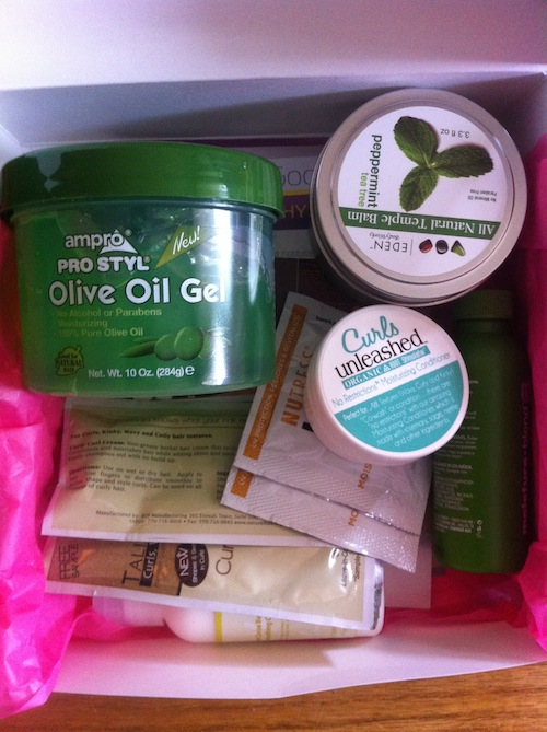 My curlBOX review