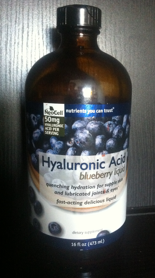 NeoCell Hyaluronic Acid Blueberry liquid supplement