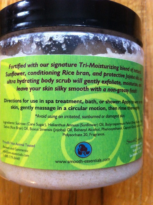 Smooth Essentials Coconut and Lime Sugar Body Scrub