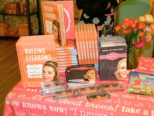 Benefit Cosmetics new eyebrow beauty grooming book Raising Eyebrows