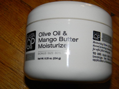 Elasta QP olive oil and mango butter moisturizer