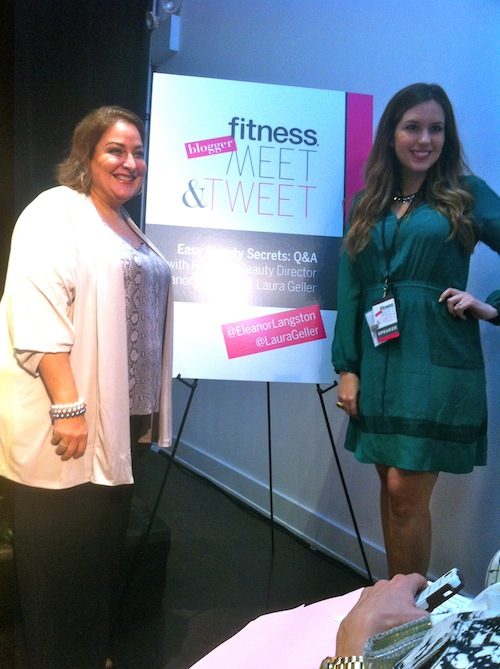 Beauty Maven Laura Geller and Fitness Magazine Beauty Director Eleanor Langston