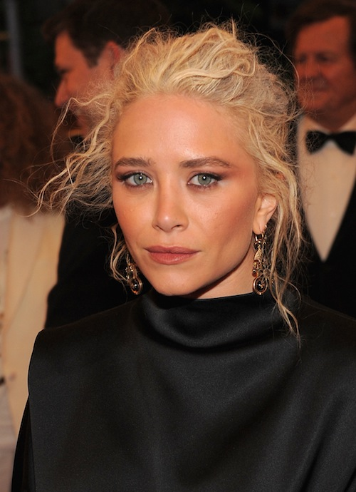 Mary-Kate Olsen beauty breakdown at the Met Gala 2012