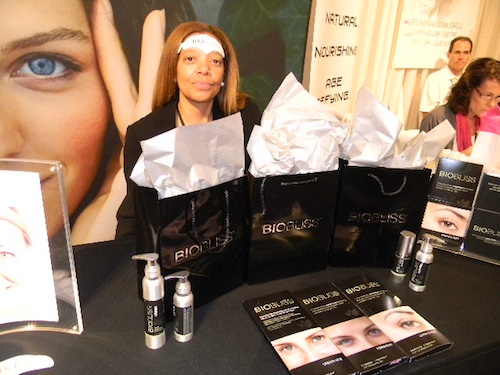 BioBliss at the Makeup Show New York City 2012