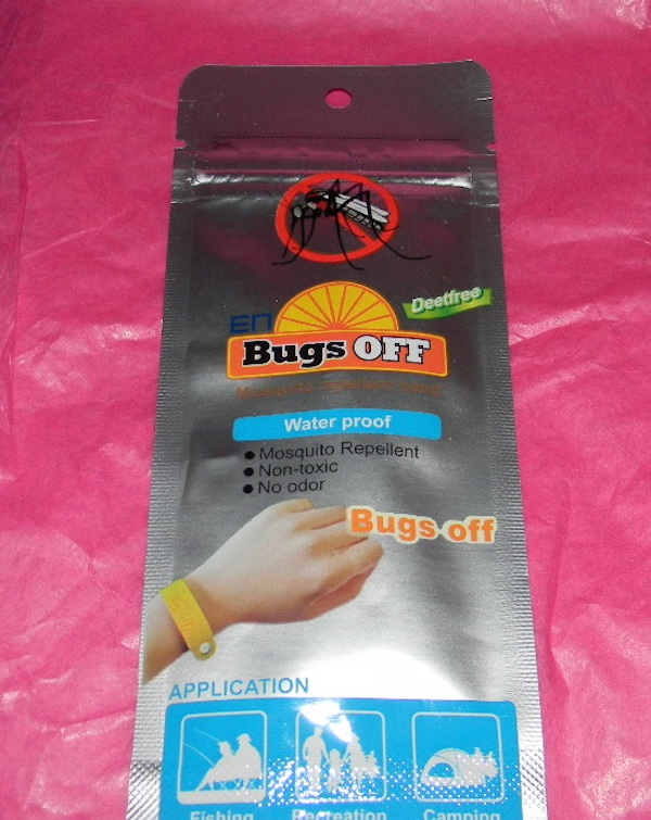 Bugs off Bracelet insect repellant deet free