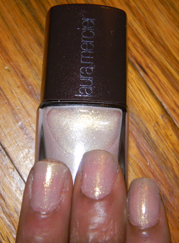 Laura Mercier Nail Lacquer Fall 2012 color, organza