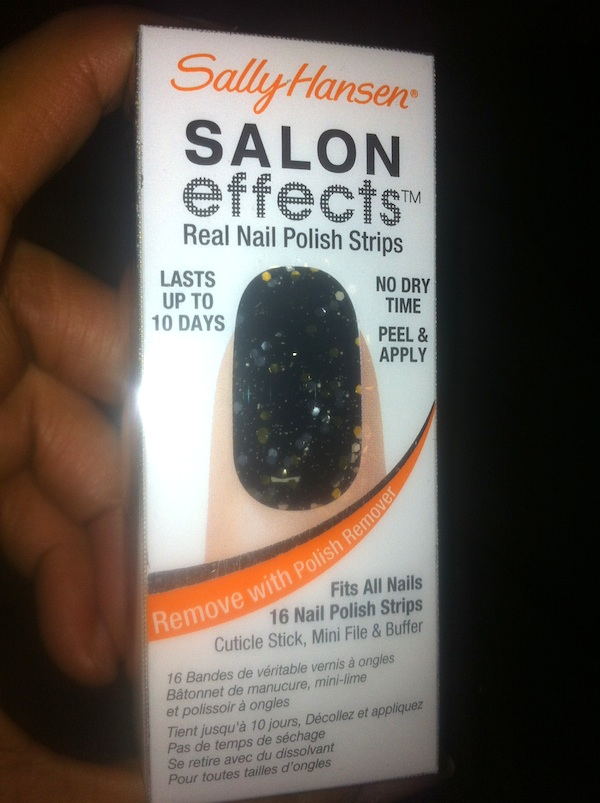 Sally Hansen Salon Effect Real Nail Polish Strips in Lust-Rous