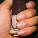 Looking Polished: Laura Mercier Nail Lacquer in Organza