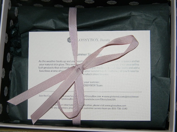 June Glossybox 2012 review