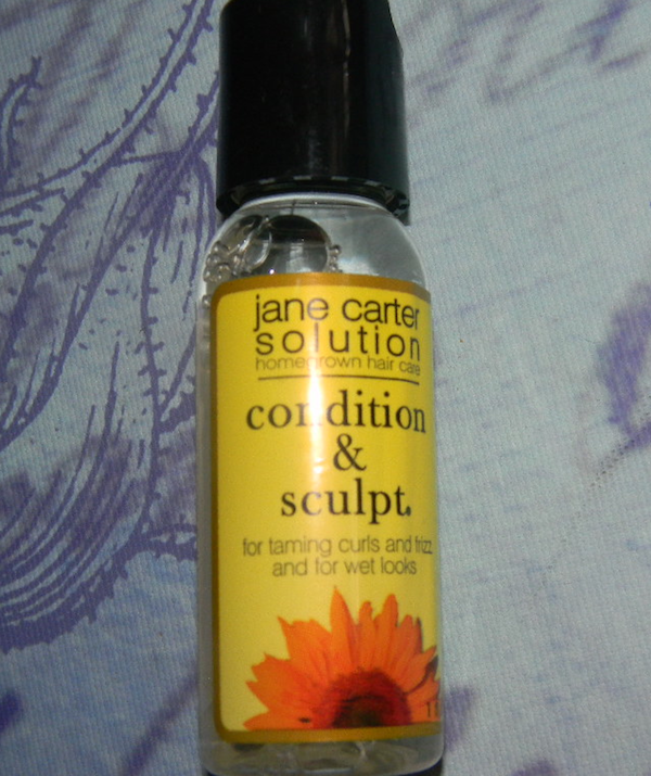July  2012 curlbox review, Jane Carter solutions condition and sculpt