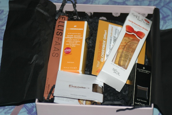 Glossybox August 2012 Pure Luxury