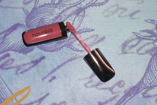 Review & Swatches: Hourglass Opaque Rouge Liquid Lipstick in Rose