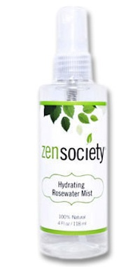 Zen Skincare Society Hydrating Rosewater Mist