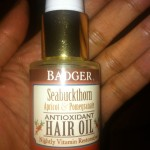 Review: Badger Seabuckthorn Antioxidant Hair Oil
