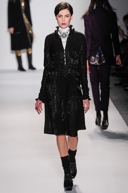 Mercedes-Benz Fashion Week FW 2013: Ruffian