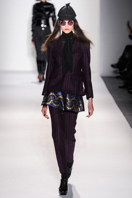Mercedes-Benz Fashion Week FW 2013: Ruffian Exotic Pants Prints