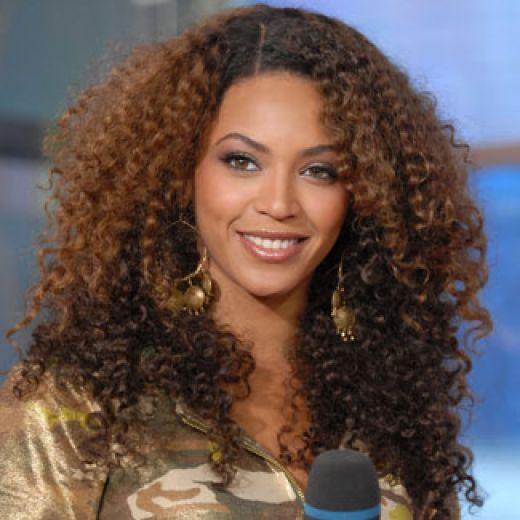 Model Beautiful Hair Styles Natural Curly Hair Styles
