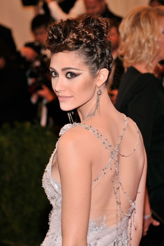 Get the Look: Emmy Rossum at the 2013 Met Gala