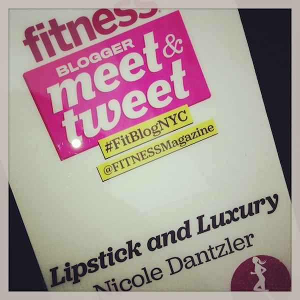 Fitness Magazine Blogger Meet and Tweet - #FitBlogNYC
