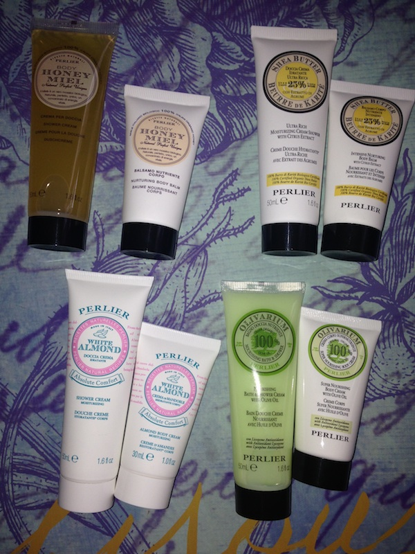 Perlier Shower and Body Cream Travel Kit