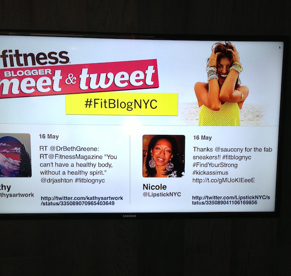 Tweets from Fitness Magazine Meet &amp; tweet