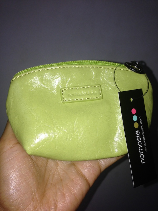 Namaste Jemma Pouch in Lime