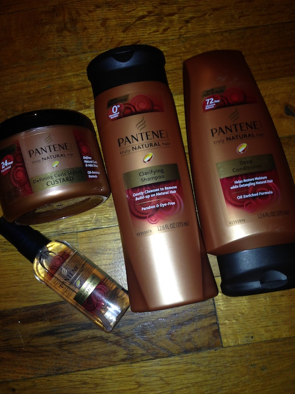 Pantene Truly Natural haircare line