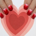 Valentine's Day Sweetheart Nail Art from Jin Soon Choi