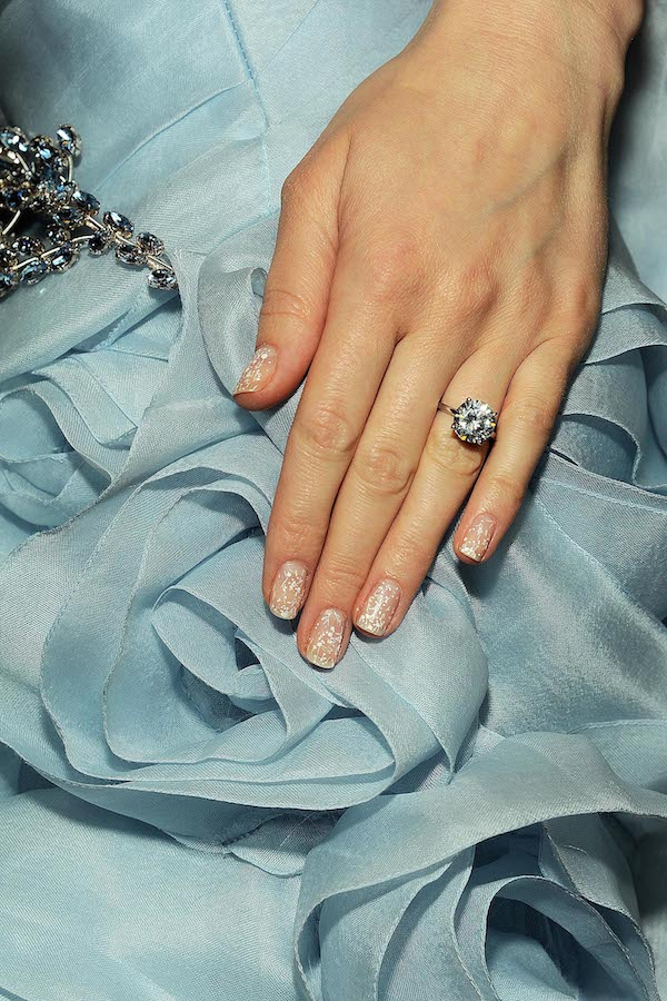 Summer 2014 bridal inspiration manicure