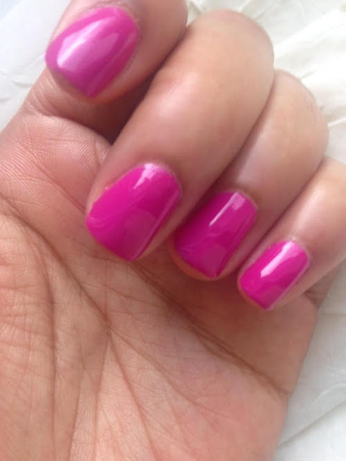 Manicure: Essie Nail Polish in Too Taboo